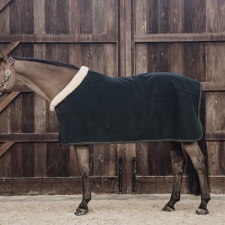 KENTUCKY HEAVY FLEECE SHOW RUG pine green