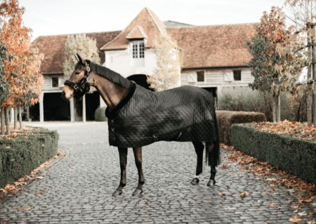 KENTUCKY SHOW RUG 160 GR Black/black