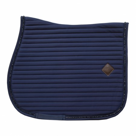 KENTUCKY SADDLE PAD PEARLS SHOW JUMPING navy